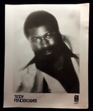 TEDDY PENDERGRASS 100% ORIGINAL Vintage Photo 1980s #7446a