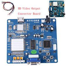 Convertidor de salida de vídeo de alta definición tablero VGA/RGB/CGA/EGA/YUV A Hdmi Para Arcade 5V/2A MV