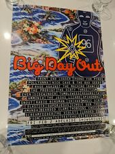 BIG DAY OUT 1996 OFFICIAL PROMO POSTER, AUSTRALIAN TOUR POSTER, BDO POSTER