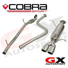 FD60 Cobra Sport Ford Fiesta Mk7 1.2 1.4 1.6 (08-14) Cat Back Exhaust -Flex Type