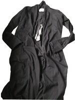 Nununu Black Light Cardigan Size 8/9 Years NWT HTF