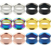 PW_ 1pc Stainless Steel Tunnel Expander Stretcher Ear Plug Piercing Jewelry Co
