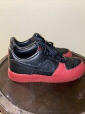 2008 Nike air force 1 low Black And Red size 12
