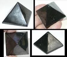 1 Russian SHUNGITE Crystal Pyramid - Boost Vitality! Protection!