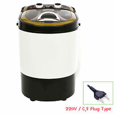 DAEWOONG POWER MOM Mini Washing Machine Portable Washer Spin Dryer