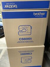 BrotherCS6000i 60-Stitch Computerized Sewing Machine with Wide Table