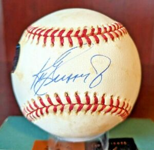 Ken Griffey Jr Signed Autographed Auto OML Baseball Reds HOF UDA Cert With Cube