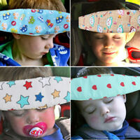 Kids Baby Car Seat Safety Stroller Sleep Nap Aid Head Fasten Support Holder