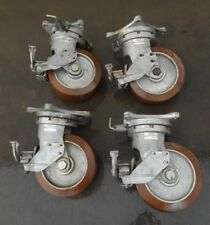 "AEROL SH10-1-1-XL10 SWIVEL OFFSET HEAVY DUTY 10"" SHOCK ABSORBING CASTERS"
