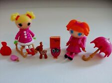 Lalaloopsy Bea Plays In the Rain & Holly Sleigh-bells Mini Dolls