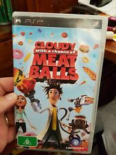 Cloudy with a Chance of Meatballs  -  PSP - FREE POST