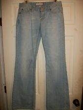 AEROPOSTALE KAILEY SKINNY FLARE WOMEN' JUNIOR DENIM JEANS SIZE 5/6 LONG INSEAM 3