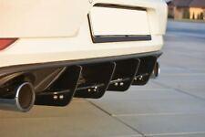 Facelift Golf 7 GTI Heckansatz Heck Diffusor Cup DTM VW VII Heckschürze Flaps