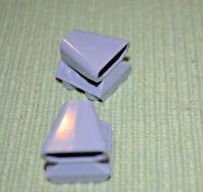 (2) 2x2 Light Gray Car / Truck Motor with Blower Bricks ~  Lego  ~ NEW ~