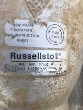 Russellstoll Thomas & Betts JPS2044F J-Line Plug Watertight 200Amp; 4Pole 4Wire