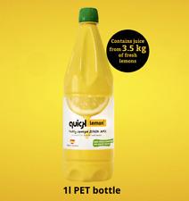 Quick Lemon® 🍋 Freshly Squeezed Lemon Juice Large 1 Litre Bottle 🇪🇸