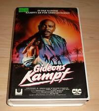 VHS - Gideons Kampf - Louis Gosset Jr.,  - 1989 80s Videofilm - Videokassette