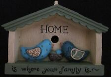 Decorative Ornament Decoration Home Where Your Family Is Small House Decor NEW