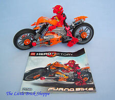 Rare Lego Hero Factory 7158 FURNO BIKE - Complete with instructions