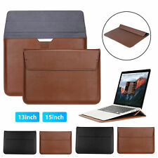 Waterproof Leather Laptop Bag Sleeve Case for MacBook Pro Air 13 15 inch Laptop