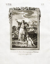1822 Ovid Metamorphosen Ceres und Arethusa Original-Kupferstich
