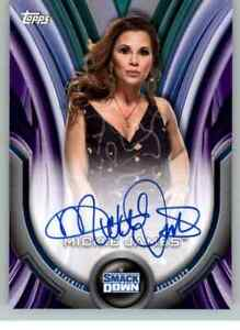 2020 WWE Women's Division Mickie James auto /99