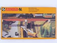 Arnold 6171 Behelfsbrücke Ungebaut Bausatz Kit Spur N NEU! OVP 1607-11-31