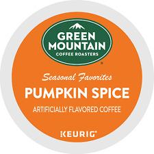 Green Mountain Coffee Pumpkin Spice, Keurig K-Cup Pod, Light Roast, 48 Count