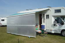 3mtr Motorhome, Caravan Awning Blocker Panel. Fit Fiamma & Omnistor. Waterproof
