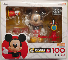 GOOD SMILE CO NENDOROID DISNEY MICKEY MOUSE ACTION FIGURE 90 YEARS NEW AUTHENTIC