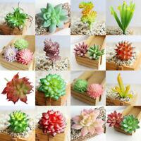 Artificial Succulents Plant Miniature Fake Cactus Garden Home Floral Decor Hot