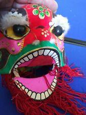 Mini Chinese Dragon Lion New Year Dance Head