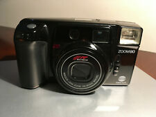 Euc Minolta Zoom 90 35mm film point/shoot camera with the case & new battery