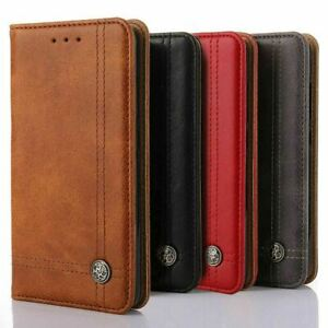 Genuine Leather Case Cover for Samsung Galaxy A20E A40 50 M31 Plus NOTE 20 ultra