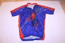 Men's Spider-Man S/M Biking Cycling Jersey Marvel