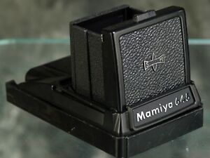 Mamiya M645 Waist-level Finder,  beautiful condition with bottom cap U.S. Seller