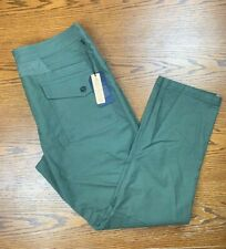 NWT Men's Roark Layover Stretch Travel Pants Sz 36 Army Green Jeans Sweatpants