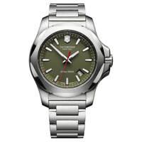 Victorinox Swiss Army Men's Watch I.N.O.X. Green Dial Bracelet 241725.1
