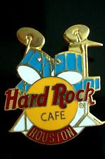 HRC Hard Rock Cafe Houston Blue Drum Set Yellow Logo