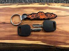 (2 pack) Bad Boy Zero Turn Mower Ignition Key MZ ZT CZT Outlaw w/ KEY CHAIN