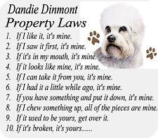Mousepad Dandie Dinmont Terrier Dog Computer Desktop / Laptop / Gaming Mouse Pad