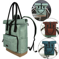 Tourbon Bike Pannier Rear Rack Bag Saddle Backpack Travel Case 3 Colors Options