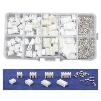 40 sets Kit in box 2p 3p 4p 5 pin 2.54mm Pitch Housing / Pin Header Kits E6U5