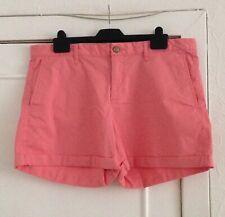 Ladies GAP Khakis Pink Girlfriend 4 Inch Shorts UK Size 18 (US 14) - BNWT