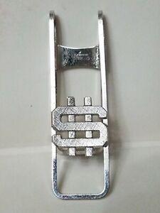 Vtg Anson Silver Sterling Money Clip dollar sign estate retro 50's accessory