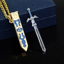 Hot Game The Legend Of Zelda Necklace Removable Master Sword Necklace  TY05