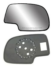 2001-2006 CADILLAC Escalade Passenger Side No-heat Mirror GLASS w/Backing Plate