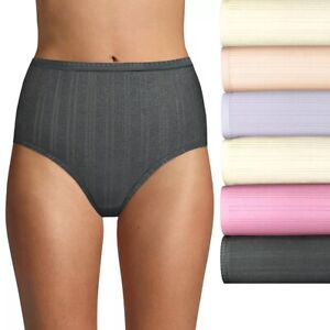 Hanes Ultimate Breathable Cotton Comfort Briefs Panty 40HUC6 6 Pack