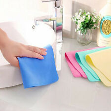 Magic Car Washing Wipe Towel Cloth Absorber Synthetic Chamois Leather a