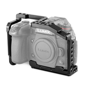 "SmallRig 2125 Aluminum Cage for Panasonic G9 Camera with 1/4""-20 3/8""-16 Thread"